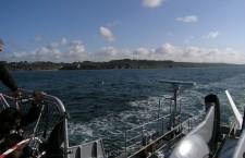 Sortie en mer à bord de la frégate «La Motte-Picquet»