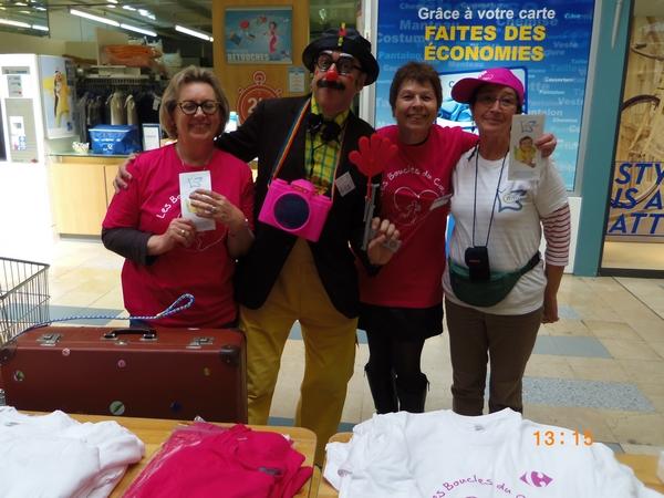 Les Boucles du Coeur à Carrefour Cesson-Sévigné