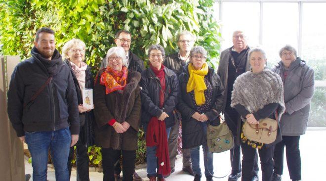 Visite de l'UNAPECLE à Rennes